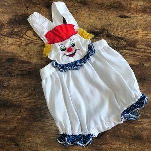 Vintage Baby Clown Jumper